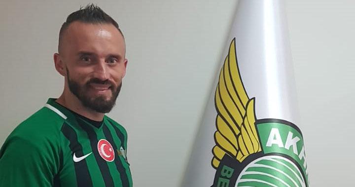 Akhisar Belediyespor'da Vrsajevic, imzayı attı