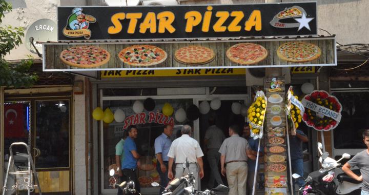 Star Pizza Akhisarlıların Hizmetine Açıldı