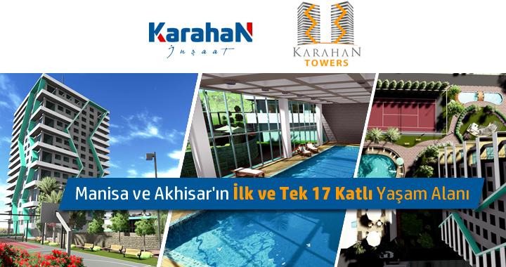 Karahan Towers'ta cazip fırsatlar