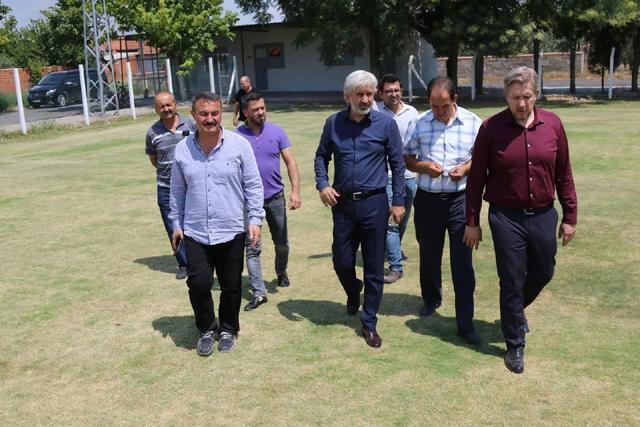 Belediye Başkanı Salih Hızlı'dan Kayalıoğlu ve Mecidiye Mahallelerine ziyaret