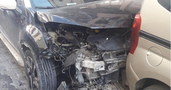Şehir Merkezinde kaza 4 yaralı