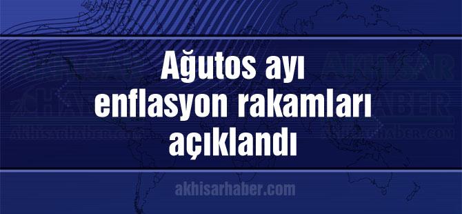 Türkiye İstatistik Kurumu, Ağustos ayı enflasyon rakamlarını açıkladı