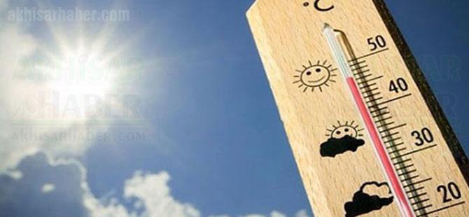 Bu hava yüksek hava sıcaklığına dikkat!