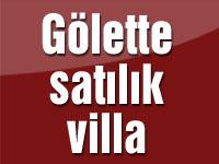 Gölette satılık villa