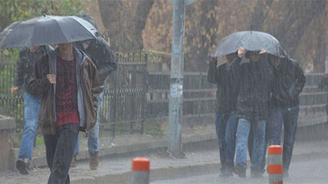 Bölgemiz yağışlı hava kütlesinin etkisine giriyor!