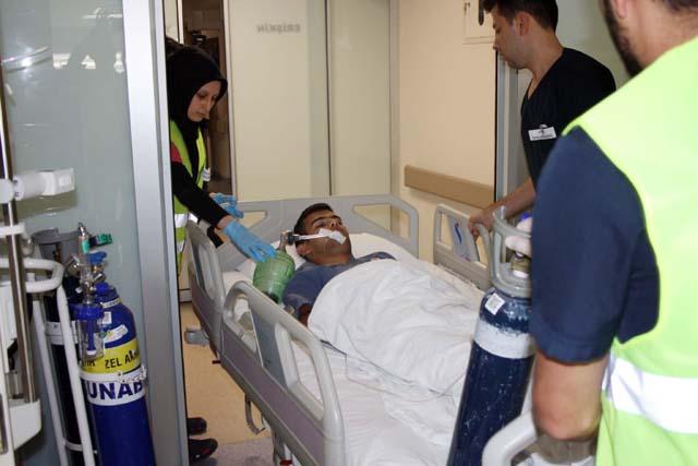 Özel Akhisar Hastanesi'nden hastane afet planı tatbikatı