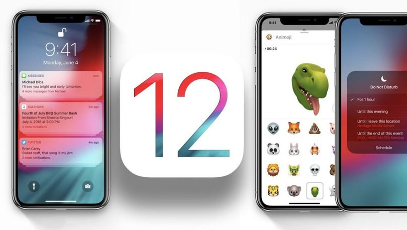 iPhone kullanıcılarına müjde! iOS 12 güncellemesi yayınlandı