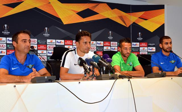 Akhisarspor- Krasnodar maçı öncesi basın toplantısı düzenlendi