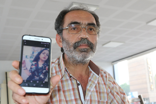 Gözü yaşlı baba, 1 aydır kayıp kızını arıyor
