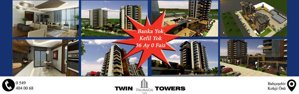 Estetik ve teknolojinin kusursuz yorumu Twin Towers hızla yükseliyor