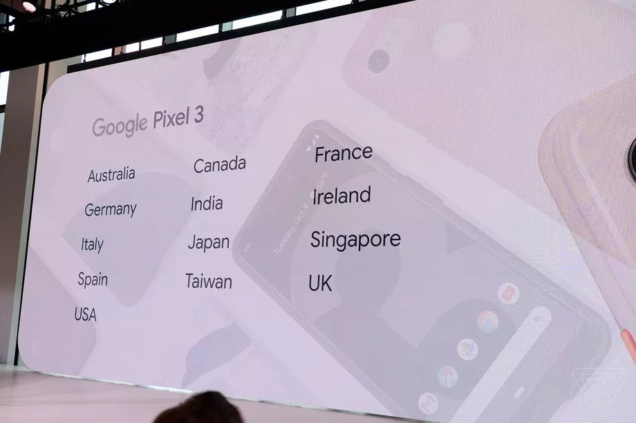 Google Pixel 3 Türkiye'de satılmayacak