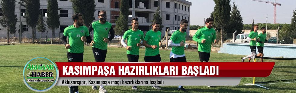 Akhisarspor, Kasımpaşa maçı hazırlıklarına başladı