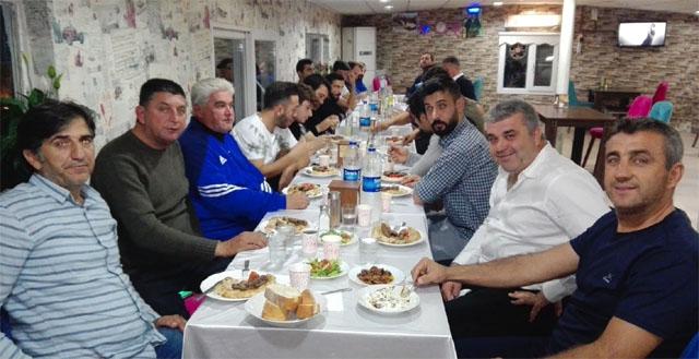 Süleymanlıspor'dan yeni sezona merhaba yemeği
