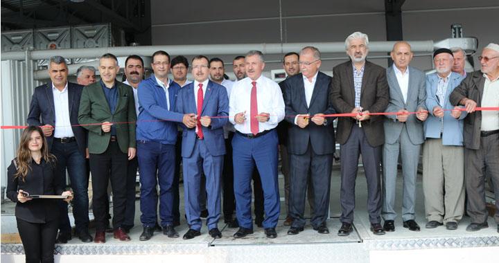 Akhisar Reyhan Zeytinyağı Fabrikası açıldı