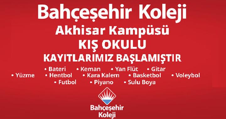 Bahçeşehir Koleji Kış Sanat ve Spor Okulları kayıtları başlıyor