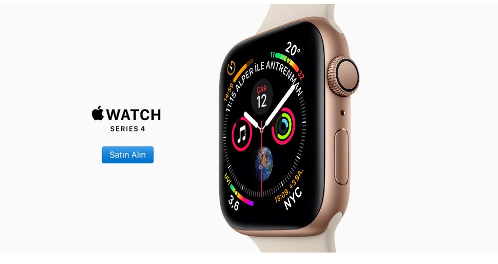 Apple Watch 4'üncü serisini Türkiye'de satışa başladı! İşte fiyatı