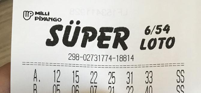 9'uncu kez devreden Süper Loto çekilişi'nde büyük ikramiye 25 milyon TL!