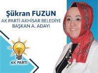 AK Parti Akhisar Belediye Başkan Aday Adayı Nefise Şükran Füzün