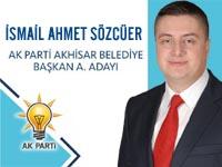 AK Parti Akhisar Belediye Başkan Aday Adayı İsmail Ahmet Sözcüer