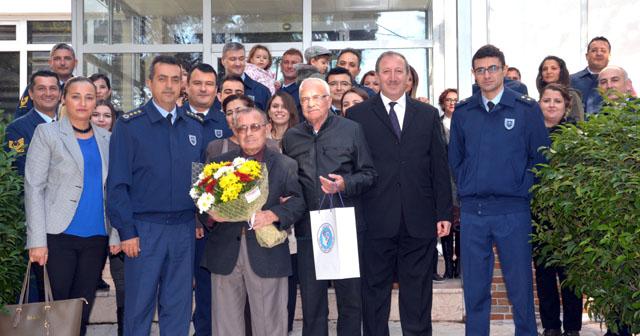 Garnizon Komutanı Şahin ve personeli, Huzurevini ziyaret etti