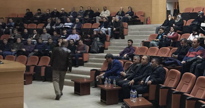 Akhisar Eğitim Bir-Sen'den Bir Medeniyet Mirası Aliya Konulu Konferans