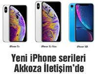 Yeni iPhone serileri Akkoza İletişim'de