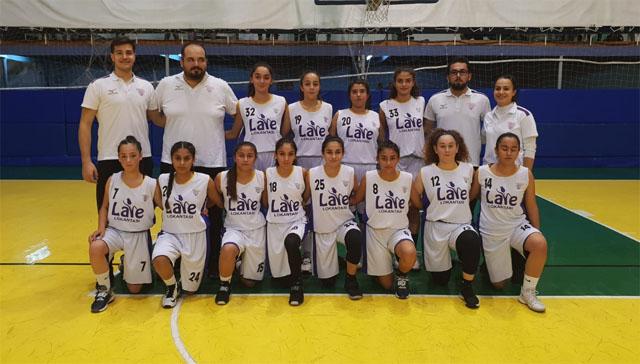 Akhisargücü U-14 Kız Basketbol takımı 1 sayı farkla kaybetti