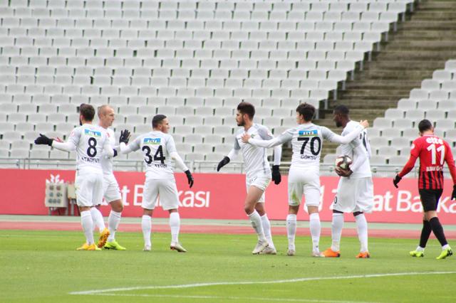 Akhisarspor, Fatih Karagümrük'ü rahat geçti 1-4