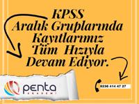Özel Akhisar Penta Kişisel Gelişim Kursunda hızlandırılmış KPSS kursu