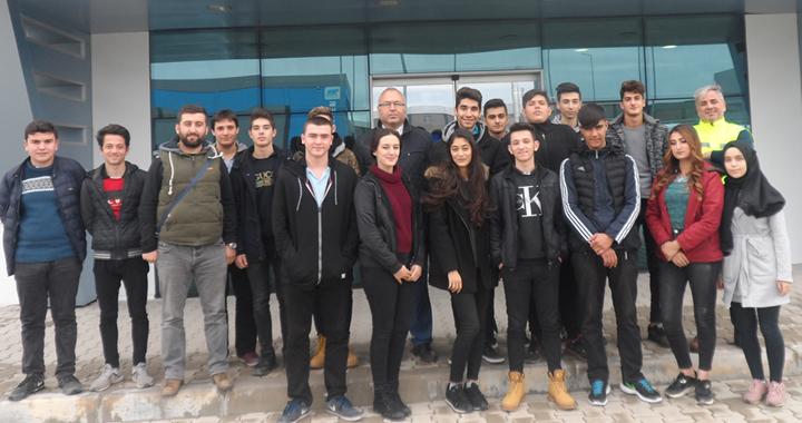Cumhuriyet MTAL öğrencilerine eğitim gezisi