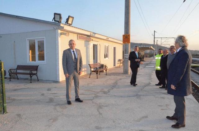 Bakırlıoğlu; eski tren garının yeniden faaliyete geçmesini beklediklerini söyledi