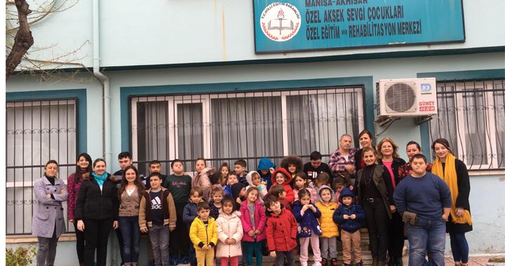 Özel Deniz Anaokulu öğrencileri ve öğretmenlerinden bir duyarlı davranış daha