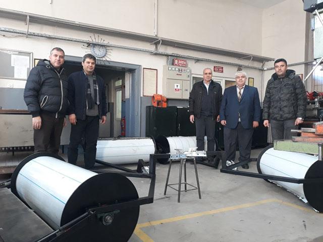 Avrupa şampiyonasının kar araçlarını Kayhan Ergun MTAL üretti