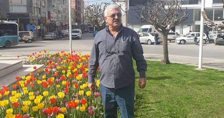 Akhisar Belediyesi Park Bahçeler çavuşu elim kazada hayatını kaybetti