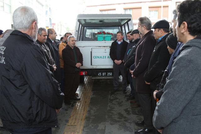 Akhisar Belediye personeli Mustafa Doğdu son yolculuğuna uğurlandı