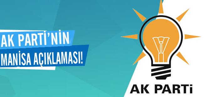AK Parti'nin Manisa açıklaması!