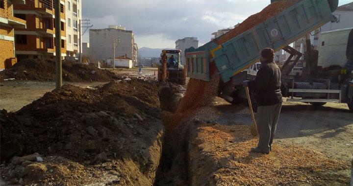 Yeni yerleşimlerin altyapı ihtiyaçları karşılanıyor