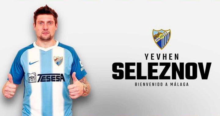 Yevhen Seleznov, MAlaga ile anlaşma sağladı