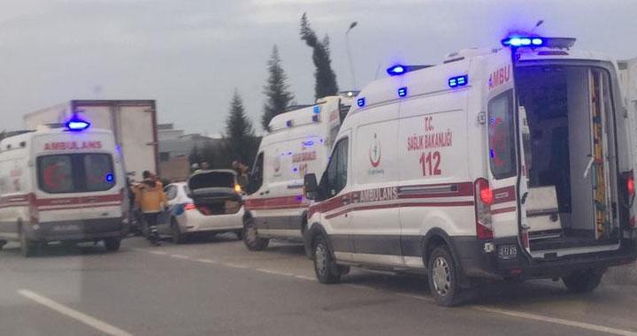 Akhisar'da feci kaza 1 kişi hayatını kaybetti