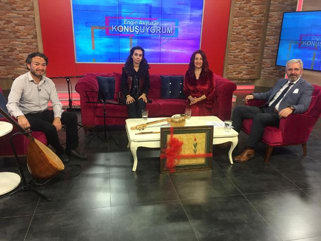 Konuşuyorum'da bu haftanın konusu Türk Halk Müziği oldu