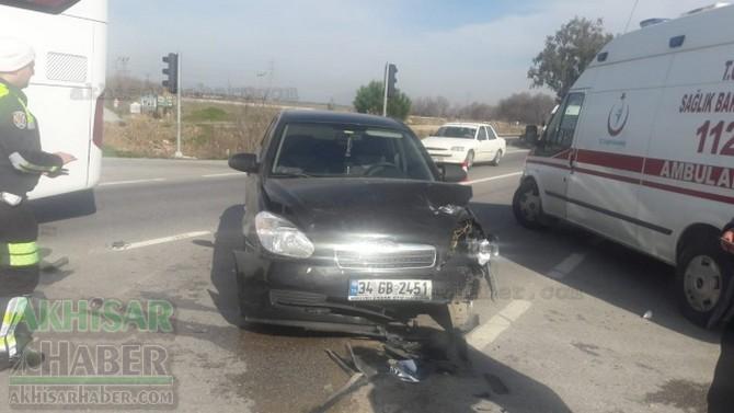 Manisa-Akhisar karayolu kaza! Çok sayıda yaralı var
