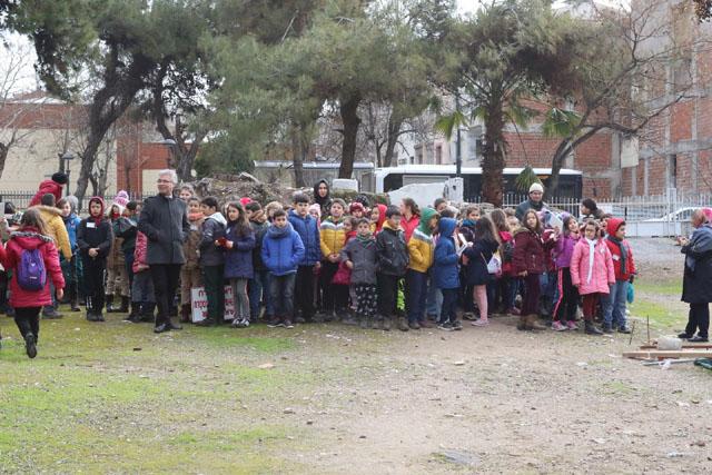 Ahmet Vehbi Bakırlıoğlu İlkokulu 4.sınıf öğrencileri artık birer fahri rehber oldu