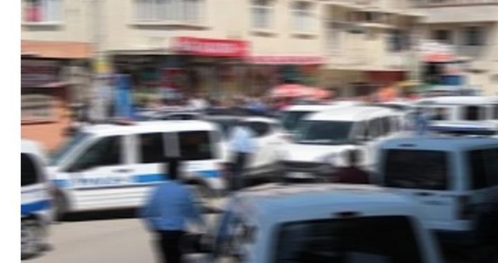 Dilek kasabasında akrabalar arasında çatışma çıktı