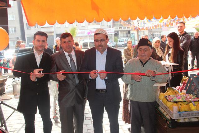 Seç Market Tırmık Ticaret, eski cuma pazarında hizmete açıldı
