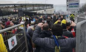 Fenerbahçeli Taraftarlar Vodafone Park'ta