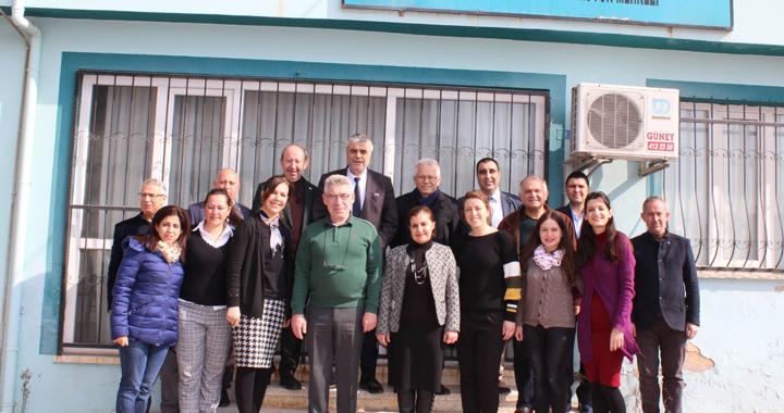 Hüseyin Eryüksel, Sevgi Çocukları ve Gülen Yüzler Rehabilitasyon Merkezini ziyaret etti