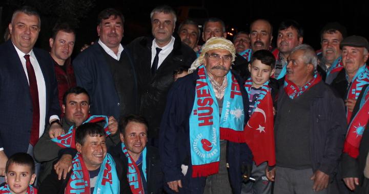 Hüseyin Eryüksel, Yenidoğan, Seğirdim ve Kızlaralanı'ndan destek istedi