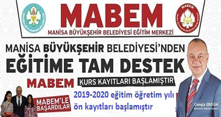 MABEM YKS-LGS ön kayıtları başlıyor