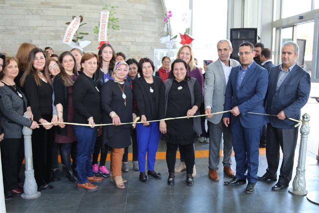 Akhisar Belediyesi Sanat Atölyesi, Kazaziye sergisi açıldı