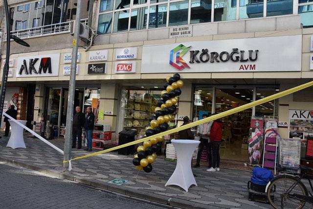 AKM Alışveriş Mağazası yeni yerinde açıldı
